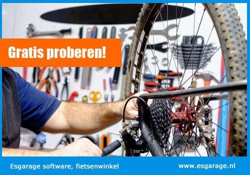 fietsenwinkel kassa software, fietsenwinkel kassasysteem