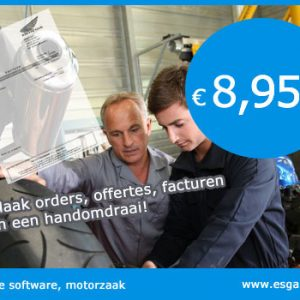 kassa software motorzaak, kassasysteem motorzaak, motorzaak kassa programma