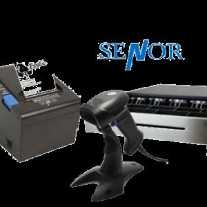 kassalade, scanner en bonprinter